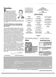 Maritime Reporter Magazine, page 6,  Oct 2001