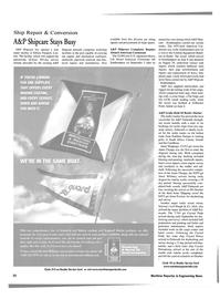Maritime Reporter Magazine, page 32,  Nov 2001