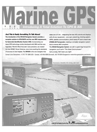 Maritime Reporter Magazine, page 3,  Nov 2001 satellite communication