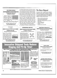 Maritime Reporter Magazine, page 54,  Nov 2001 lates technology
