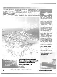 Maritime Reporter Magazine, page 58,  Nov 2001