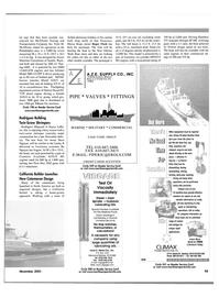Maritime Reporter Magazine, page 59,  Nov 2001