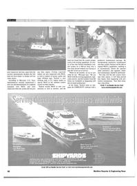 Maritime Reporter Magazine, page 66,  Nov 2001