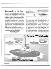 Maritime Reporter Magazine, page 67,  Nov 2001