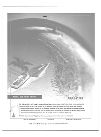 Maritime Reporter Magazine, page 5,  Nov 2001 Sea Tel Europe