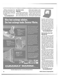 Maritime Reporter Magazine, page 70,  Nov 2001