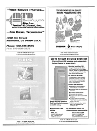 Maritime Reporter Magazine, page 4th Cover,  Nov 2001