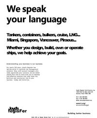 Maritime Reporter Magazine, page 11,  Dec 2001 United States
