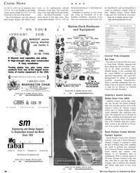 Maritime Reporter Magazine, page 20,  Dec 2001 New York
