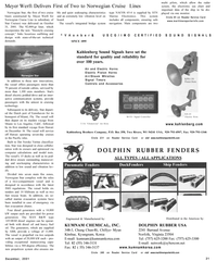 Maritime Reporter Magazine, page 21,  Dec 2001 Florida