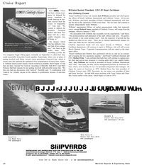 Maritime Reporter Magazine, page 24,  Dec 2001 cruise product