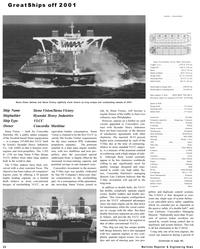 Maritime Reporter Magazine, page 26,  Dec 2001 oil