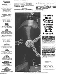 Maritime Reporter Magazine, page 1,  Dec 2001