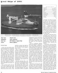 Maritime Reporter Magazine, page 28,  Dec 2001