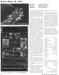 Maritime Reporter Magazine, page 30,  Dec 2001