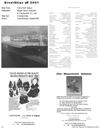 Maritime Reporter Magazine, page 32,  Dec 2001 oil and gas production facilities