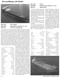 Maritime Reporter Magazine, page 34,  Dec 2001 North Sea