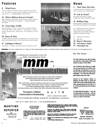 Maritime Reporter Magazine, page 2,  Dec 2001 Connecticut
