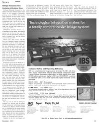 Maritime Reporter Magazine, page 39,  Dec 2001 Washington