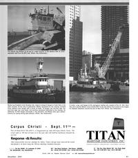 Maritime Reporter Magazine, page 41,  Dec 2001 Texas