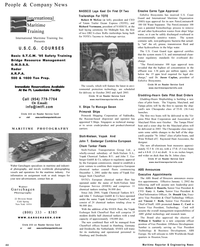 Maritime Reporter Magazine, page 44,  Dec 2001
