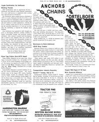 Maritime Reporter Magazine, page 45,  Dec 2001 New Jersey