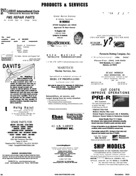 Maritime Reporter Magazine, page 58,  Dec 2001