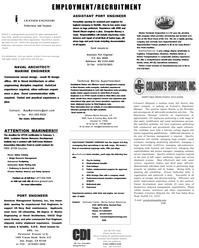 Maritime Reporter Magazine, page 60,  Dec 2001 Naval Architect