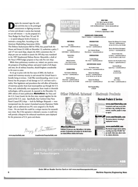 Maritime Reporter Magazine, page 9,  Jan 2002