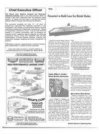 Maritime Reporter Magazine, page 11,  Jan 2002 Maryland