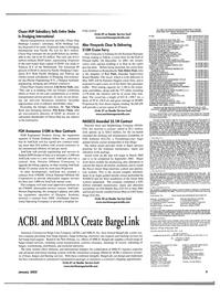 Maritime Reporter Magazine, page 12,  Jan 2002