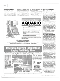 Maritime Reporter Magazine, page 13,  Jan 2002 steel fabrication