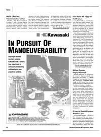 Maritime Reporter Magazine, page 19,  Jan 2002 navigation technology