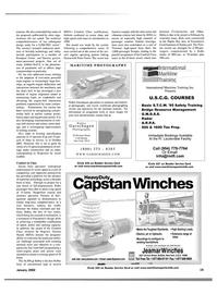 Maritime Reporter Magazine, page 22,  Jan 2002