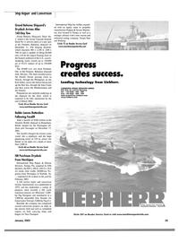 Maritime Reporter Magazine, page 28,  Jan 2002