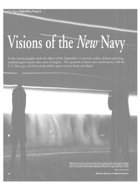 Maritime Reporter Magazine, page 29,  Jan 2002 Newport News shipbuilding