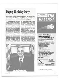 Maritime Reporter Magazine, page 32,  Jan 2002
