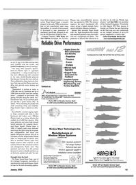 Maritime Reporter Magazine, page 46,  Jan 2002 Queensland