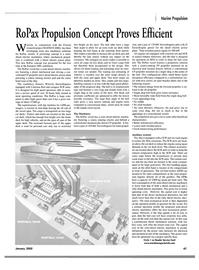 Maritime Reporter Magazine, page 50,  Jan 2002 rotation energy