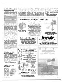 Maritime Reporter Magazine, page 52,  Jan 2002