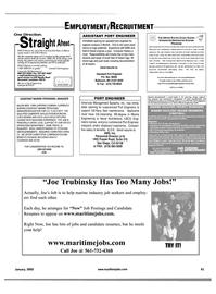 Maritime Reporter Magazine, page 64,  Jan 2002