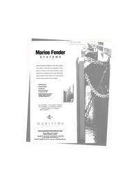 Maritime Reporter Magazine, page 7,  Feb 2002 MARINE FENDER SYSTEMS