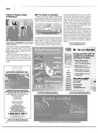 Maritime Reporter Magazine, page 8,  Mar 2002