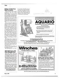 Maritime Reporter Magazine, page 9,  Mar 2002
