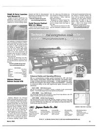 Maritime Reporter Magazine, page 11,  Mar 2002 Southern California