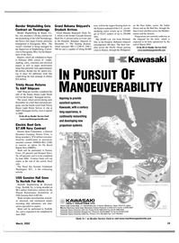 Maritime Reporter Magazine, page 19,  Mar 2002