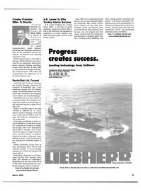 Maritime Reporter Magazine, page 23,  Mar 2002