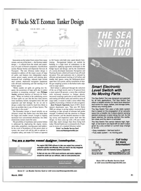 Maritime Reporter Magazine, page 31,  Mar 2002 Philippe Anslot