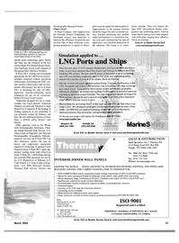 Maritime Reporter Magazine, page 37,  Mar 2002