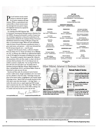 Maritime Reporter Magazine, page 6,  Mar 2002